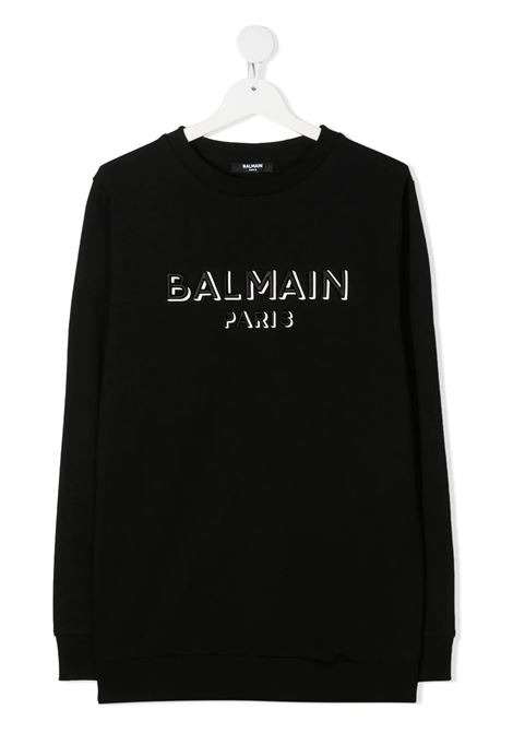 Felpa Balmain kids BALMAIN PARIS KIDS | -108764232 | 6N4640NX300930T