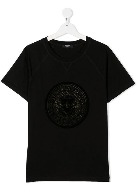 T-shirt Balmain kids BALMAIN PARIS KIDS   8   6N8631NX290930GL