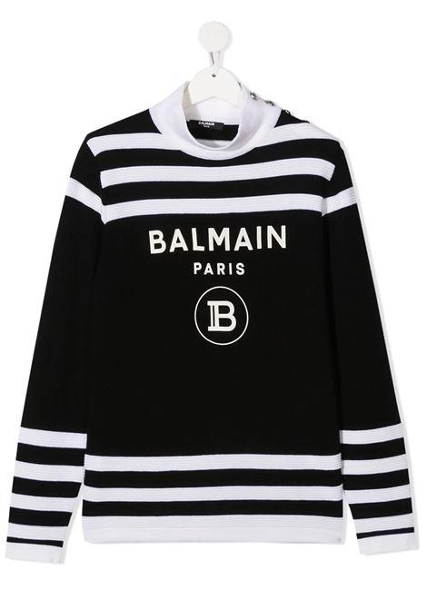 Sweater Balmain kids  BALMAIN PARIS KIDS | 1 | 6N9060NA820930BC