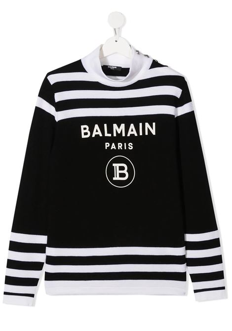 Sweater Balmain kids  BALMAIN PARIS KIDS | 1 | 6N9060NA820930BCT