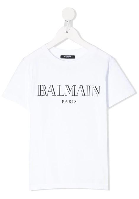 T-shirt Balmain kids BALMAIN PARIS KIDS   8   6M8721MX0301100