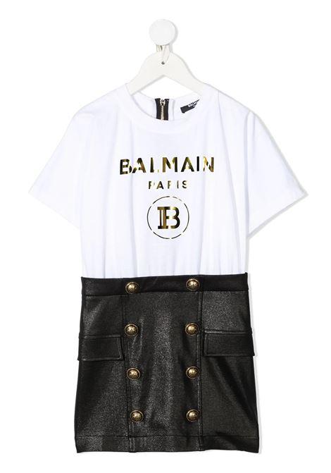 Dress Balmain kids BALMAIN PARIS KIDS | 11 | 6O1171OB690100NET