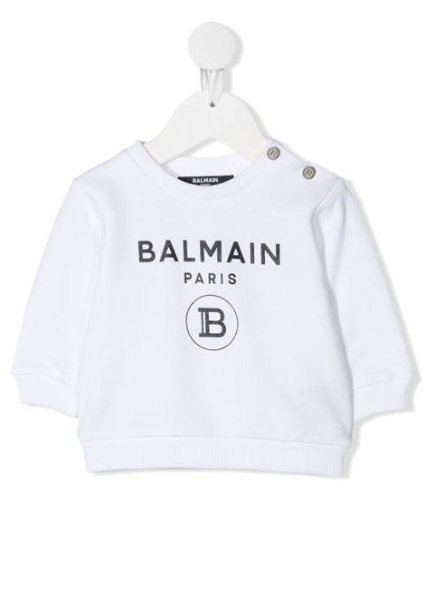 Sweatshirt Balmain kids  BALMAIN PARIS KIDS | -108764232 | 6O4A10OX370100NE