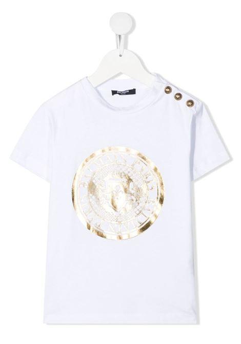 T-shirt Balmain kids BALMAIN PARIS KIDS | 8 | 6O8011OX390100OR