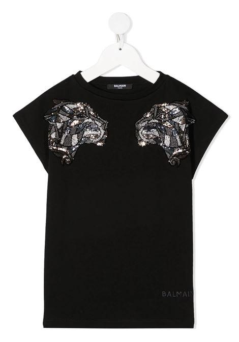 T-shirt Balmain kids BALMAIN PARIS KIDS   8   6O8081OB690930