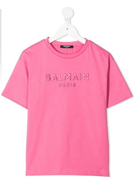 T-shirt Balmain kids  BALMAIN PARIS KIDS | 8 | 6O8231OD530513