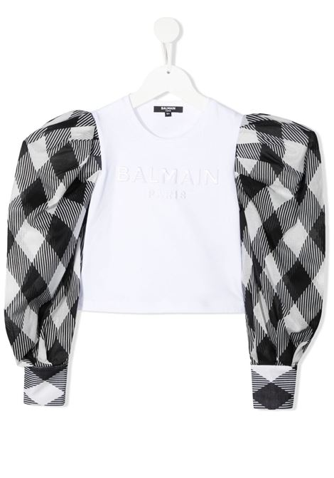 T-shirt Balmain kids  BALMAIN PARIS KIDS | -108764232 | 6O8240OB690100NE