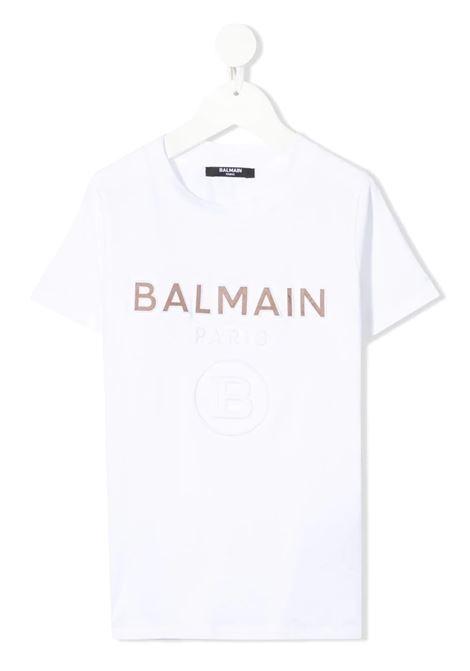 T-shirt Balmain kids BALMAIN PARIS KIDS   8   6O8521OX400100T
