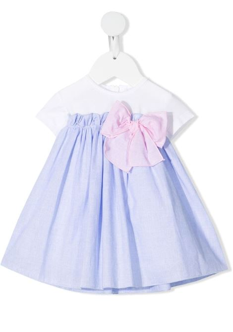 Dress Le Bebè Le Bebè | 11 | LBG3366BIANCO/CELESTE