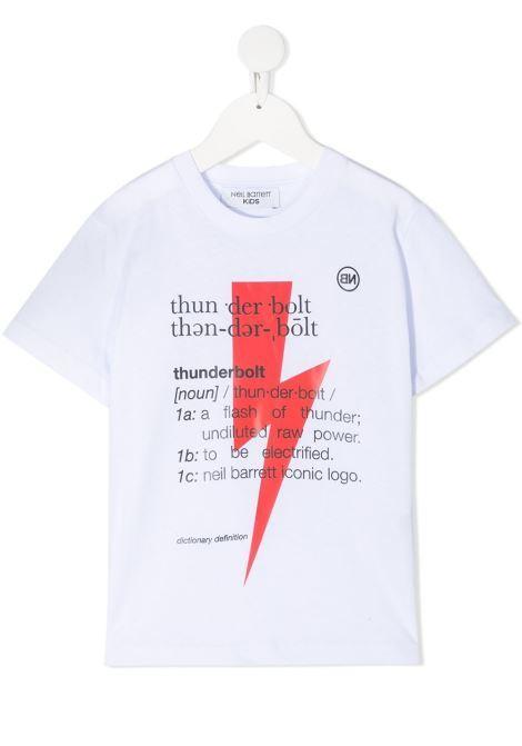 T-shirt Neil Barret kids NEIL BARRET KIDS | 8 | 027896001