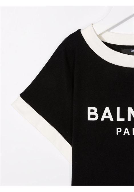 T-shirt crop Balmain kids BALMAIN PARIS KIDS | 8 | 6P8071Z0003930BG