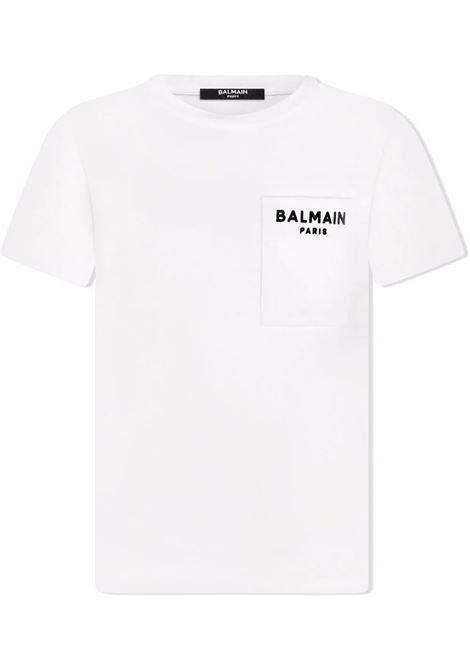 T-shirt Balmain kids BALMAIN PARIS KIDS   8   6P8671Z0003100NE