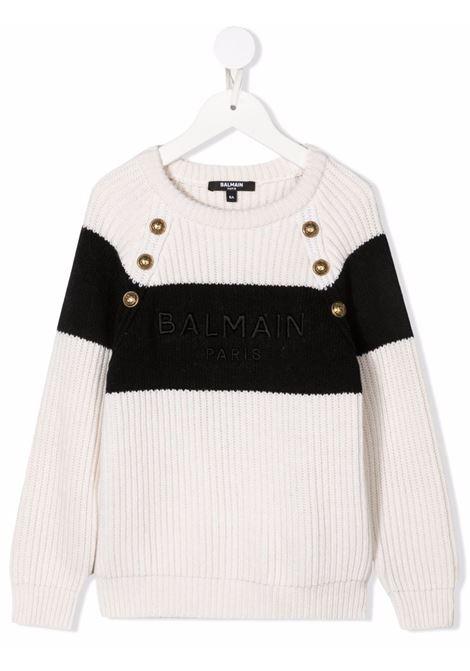Maglione Balmain kids BALMAIN PARIS KIDS   1   6P9050W0002101NE