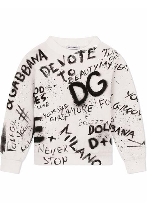 Felpa Dolce & Gabbana kids DOLCE&GABBANA KIDS | -108764232 | L4JW7OG7BJRW0111