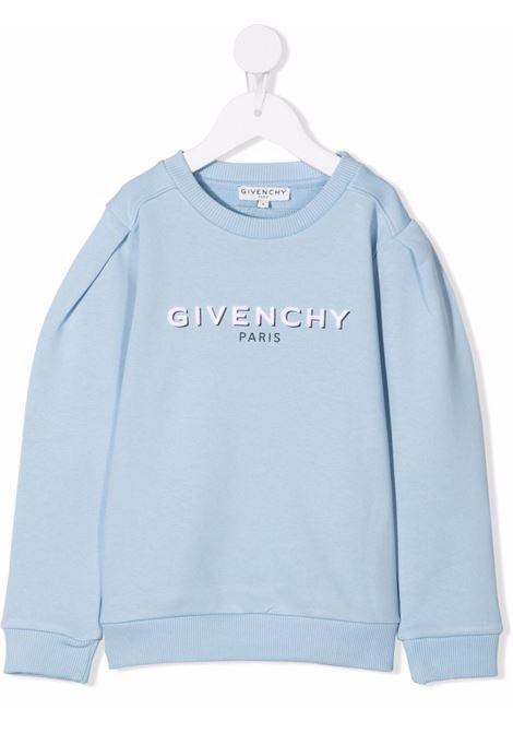 Felpa Givenchy kids GIVENCHY KIDS | -108764232 | H15222CIELO