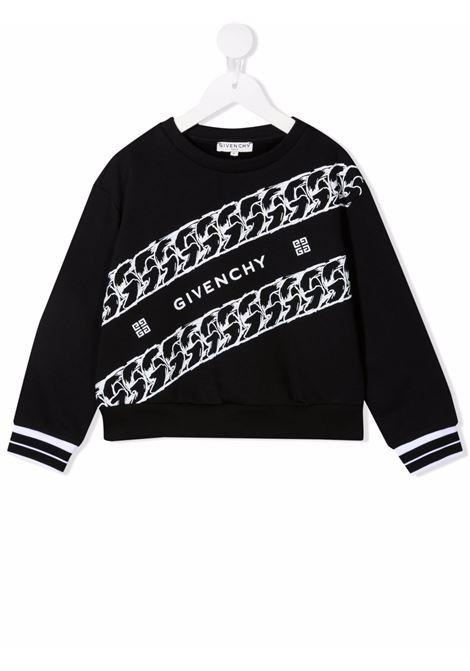 Felpa Givenchy kids GIVENCHY KIDS | -108764232 | H15227NERO
