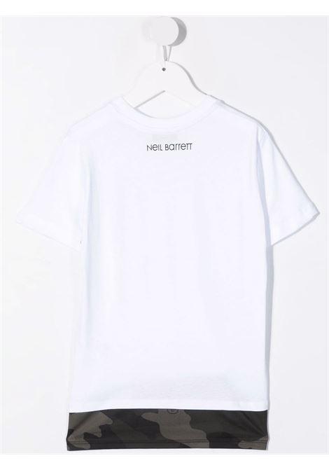 T-shirt Neil Barret kids  NEIL BARRET KIDS | 8 | 028927BIANCO