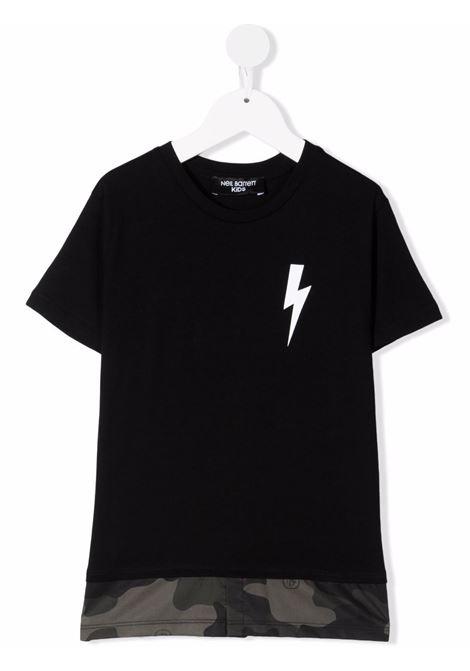 T-shirt Neil Barret kids NEIL BARRET KIDS   8   028927NERO