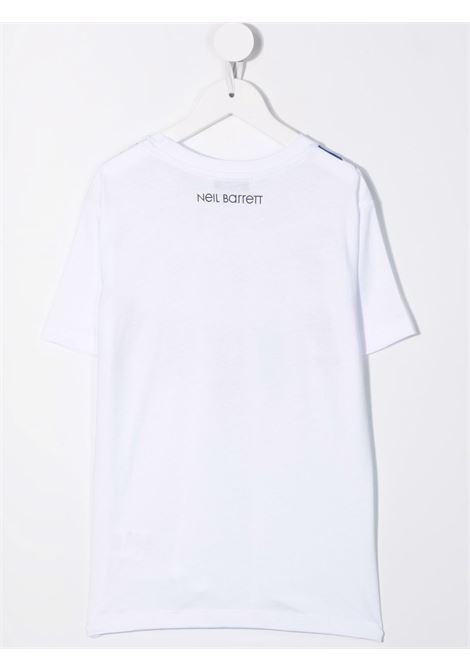 T-shirt Neil Barret kids NEIL BARRET KIDS | 8 | 028933BIANCO