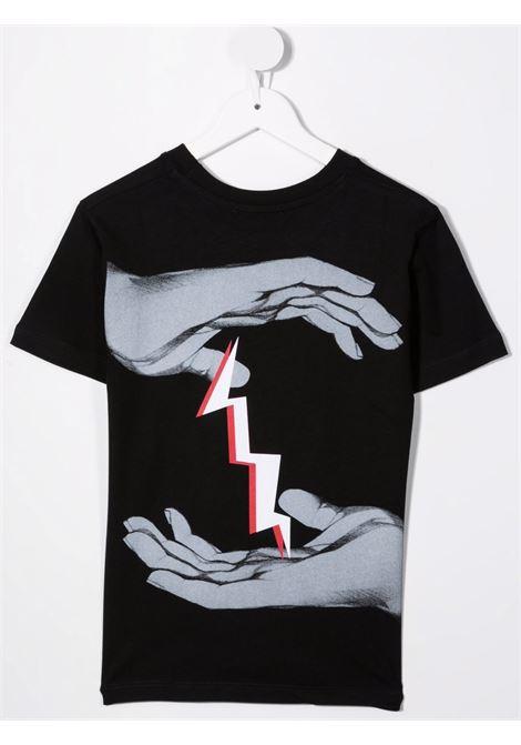 T-shirt Neil Barret kids NEIL BARRET KIDS | 8 | 028936NERO