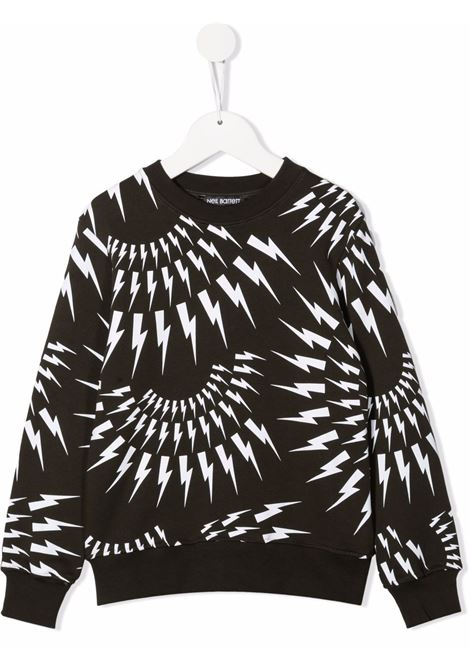 Sweatshirt Neil Barret kids NEIL BARRET KIDS | -108764232 | 028948VERDE MILITARE