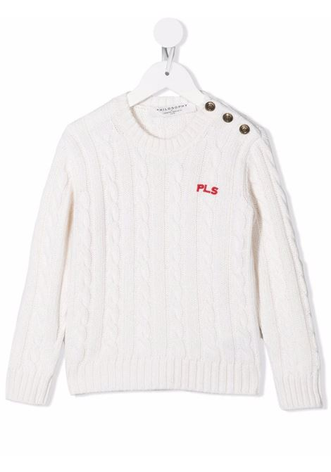 Sweater Philosophy kids PHILOSOPHY KIDS | 1 | PJMA35FL07YP0290029