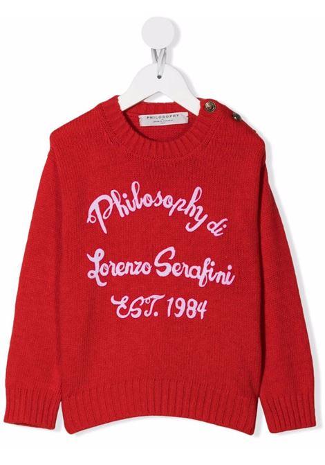 Sweater Philosophy kids PHILOSOPHY KIDS   1   PJMA36FL07YP0313031