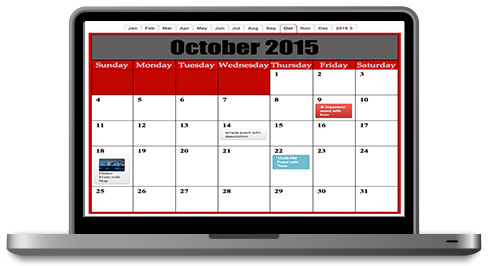 Pincalendar - Event Calendar Software