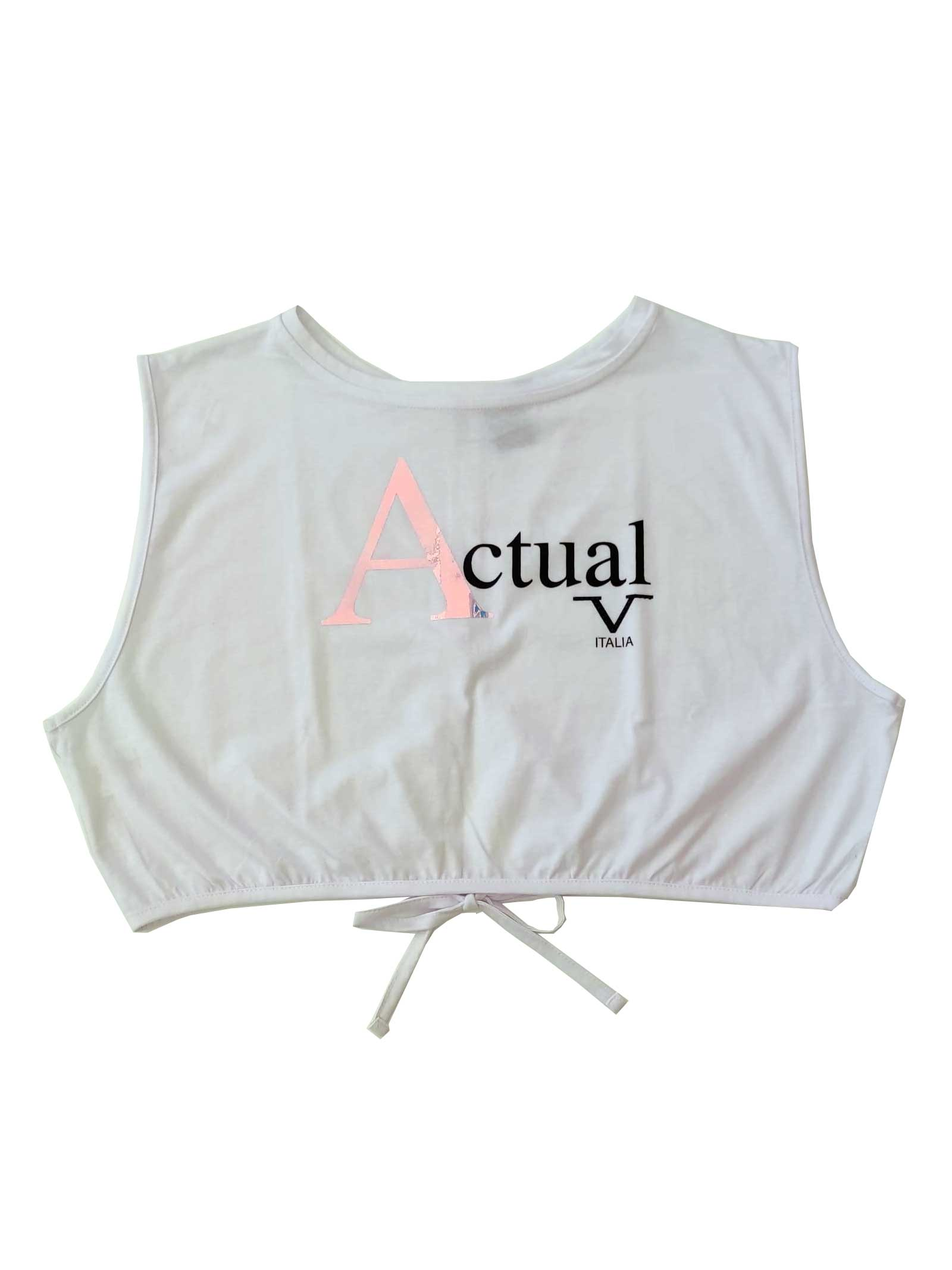 T-SHIRT DONNA 19V69   T-shirt   VI21SSDPM0005BIANCO
