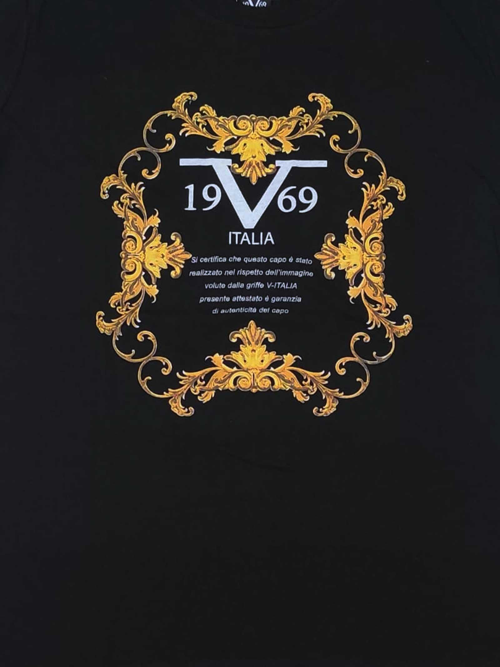 T-SHIRT DONNA 19V69 | T-shirt | VI21SSDPM0007NERO