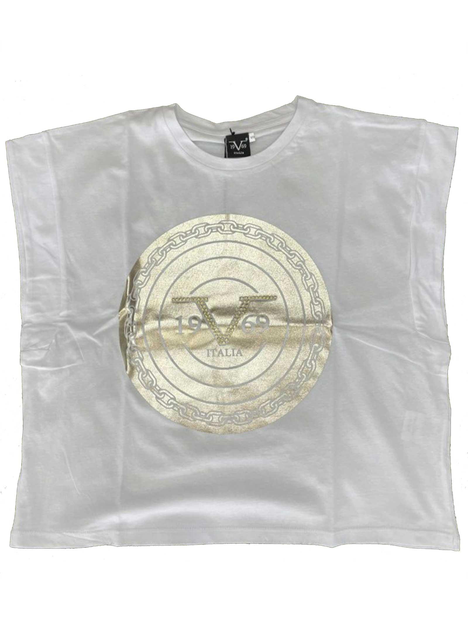 T-SHIRT DONNA 19V69 | T-shirt | VI21SSDPM0011BIANCO