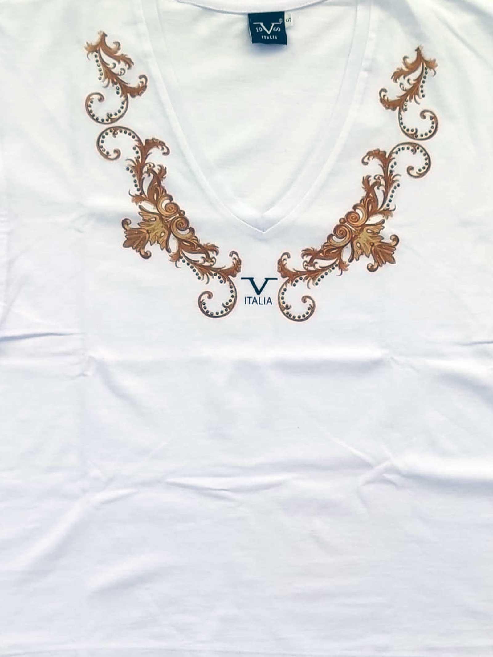 T-SHIRT DONNA 19V69   T-shirt   VI21SSDPM0013BIANCO