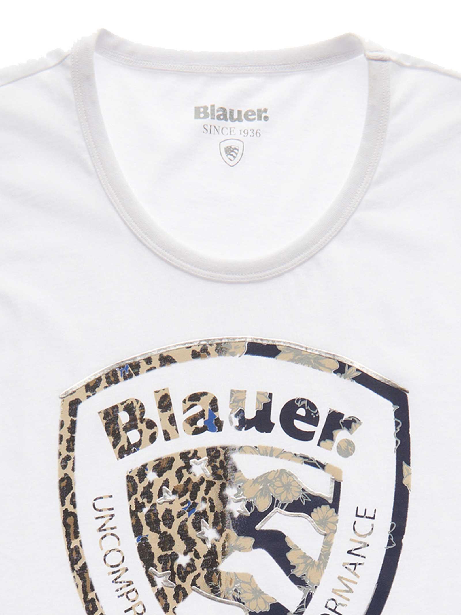 T- SHIRT BLAUER BLAUER   T-shirt   21SBLDH02138-004547100