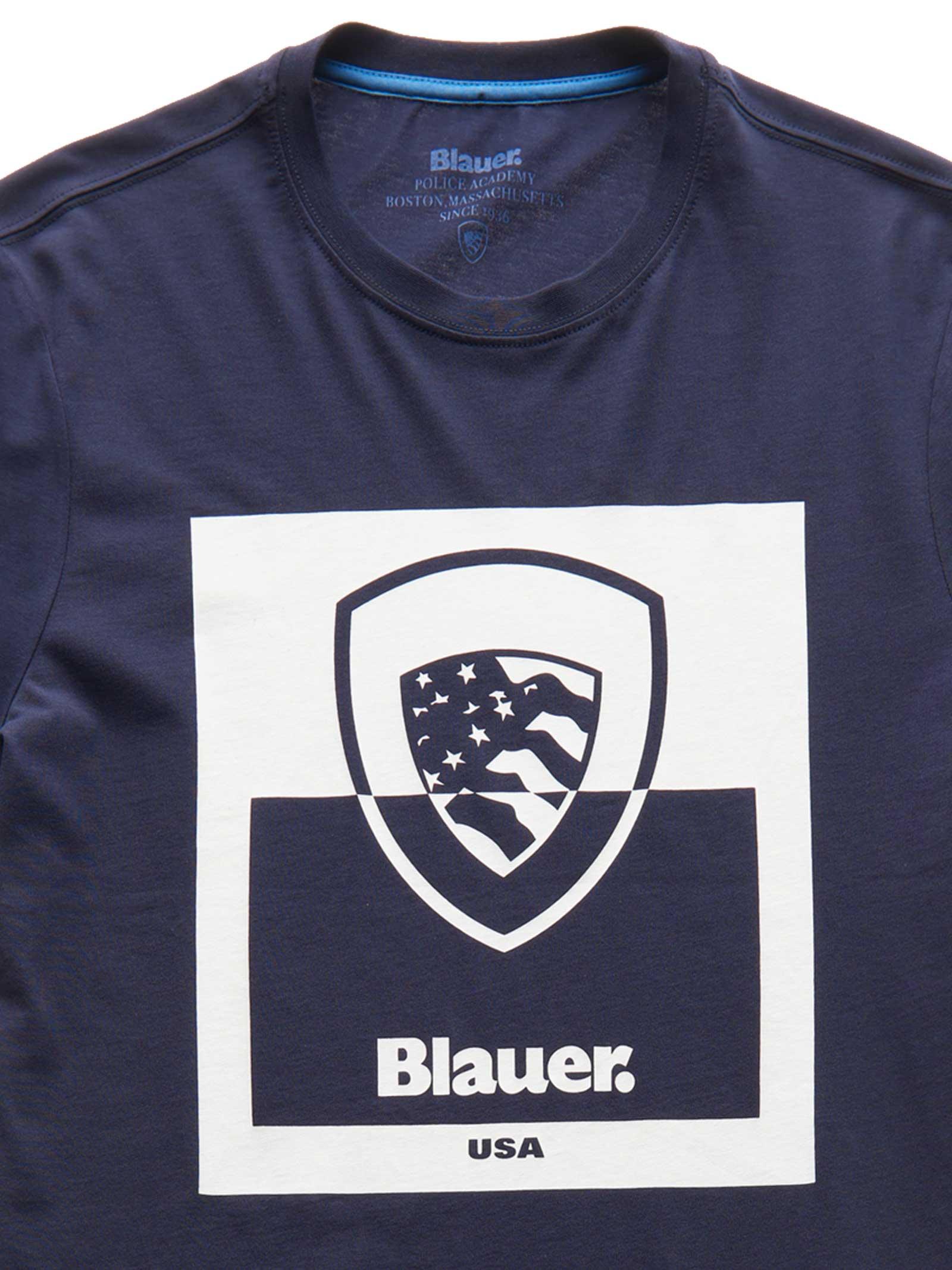 T- SHIRT BLAUER BLAUER | T-shirt | 21SBLUH02131-004547802