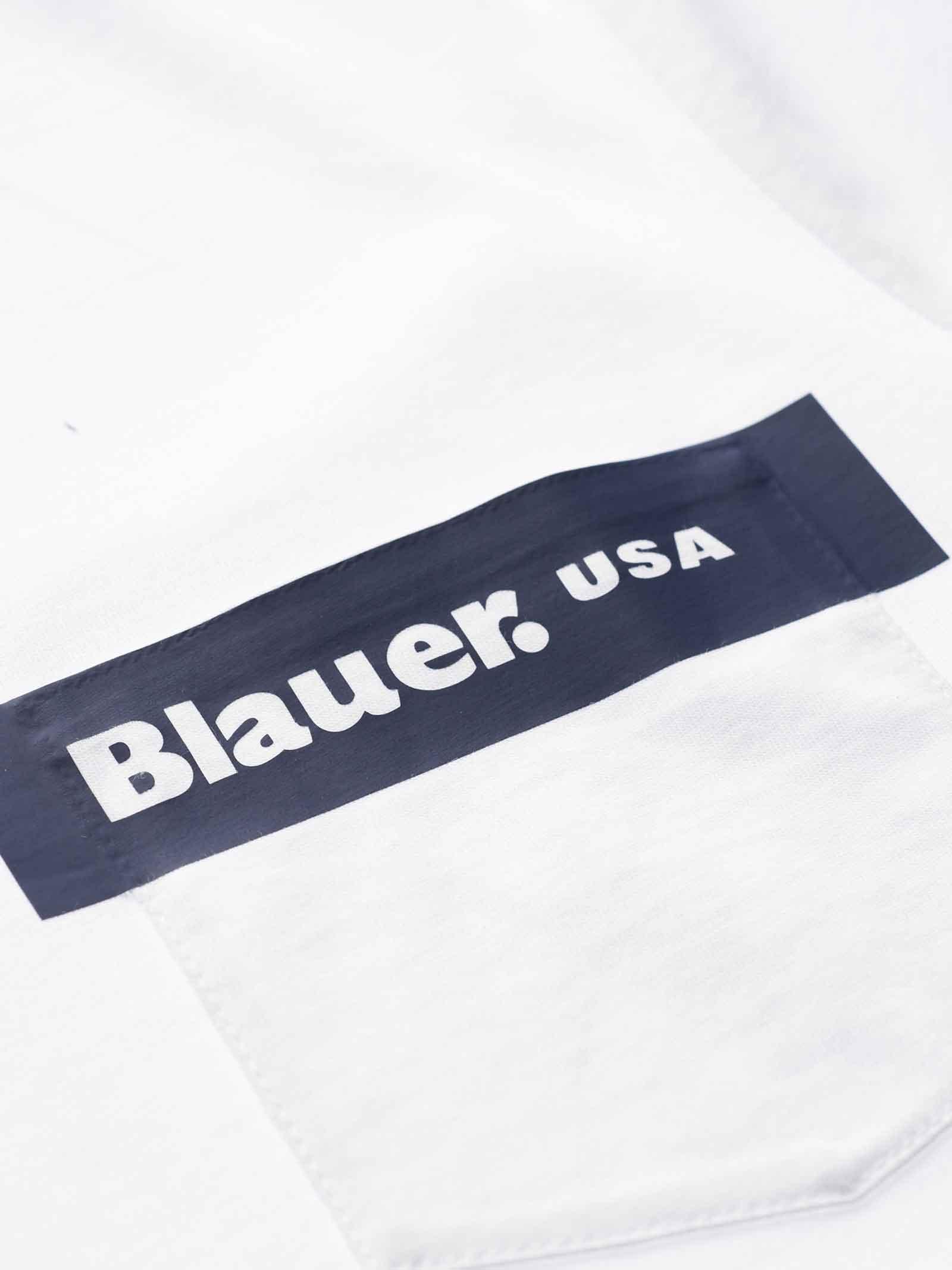 T- SHIRT BLAUER BLAUER   T-shirt   21SBLUH02136-004547100