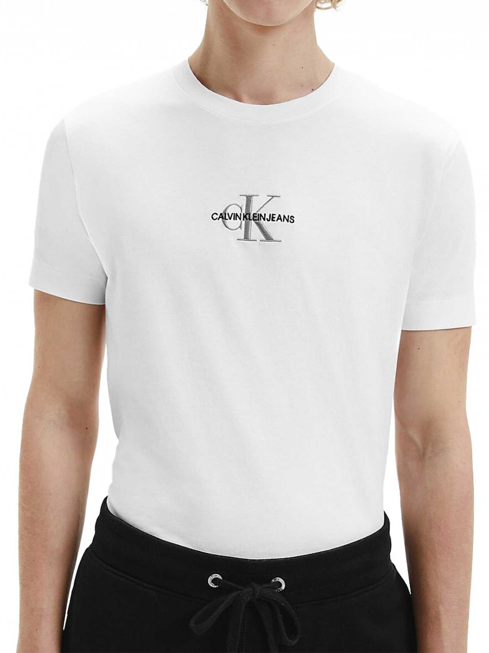 T-SHIRT UOMO CALVIN KLEIN   T-shirt   J30J317092YAF