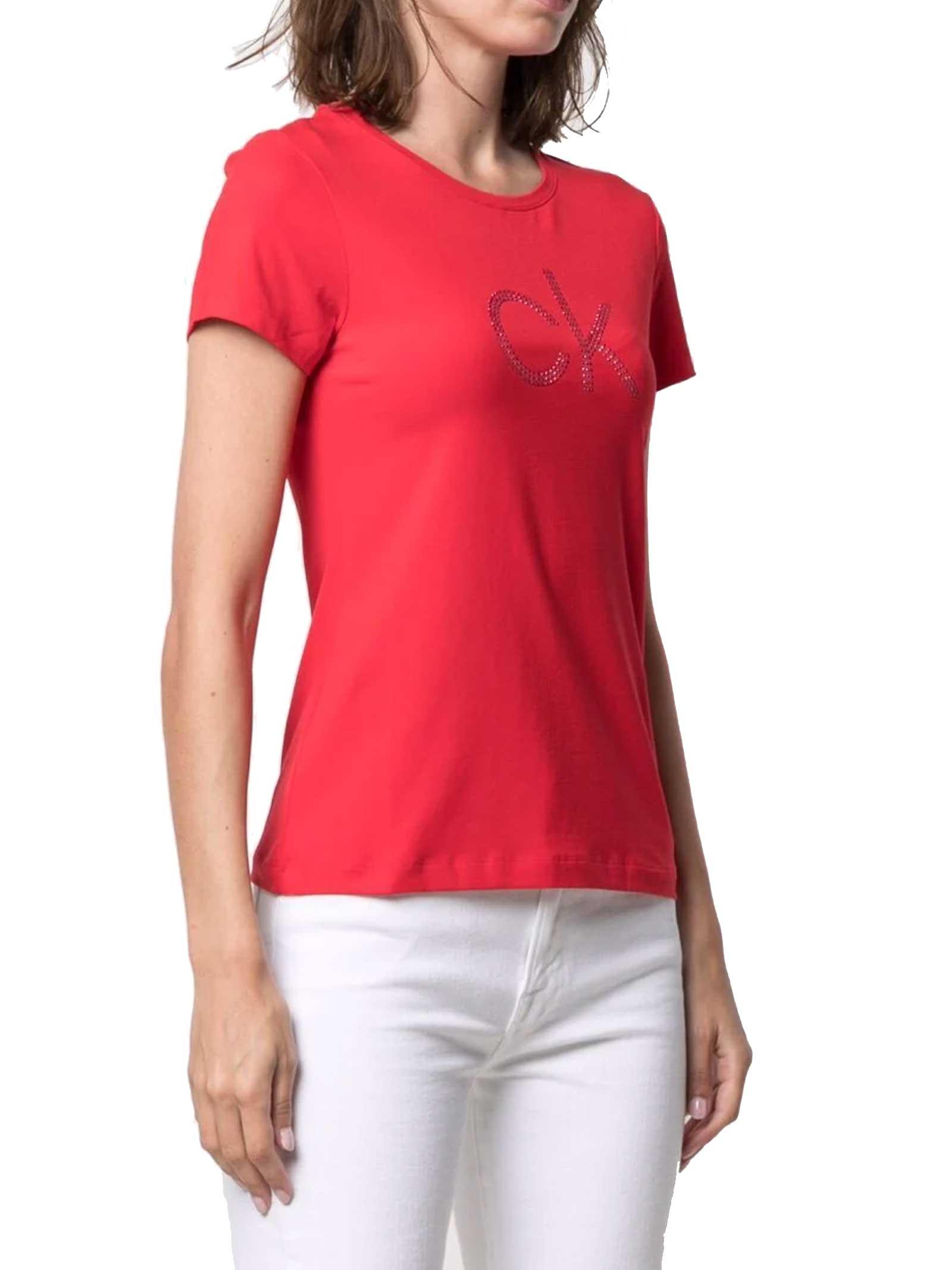 T-SHIRT DONNA CALVIN KLEIN | T-shirt | K20K202639XL7