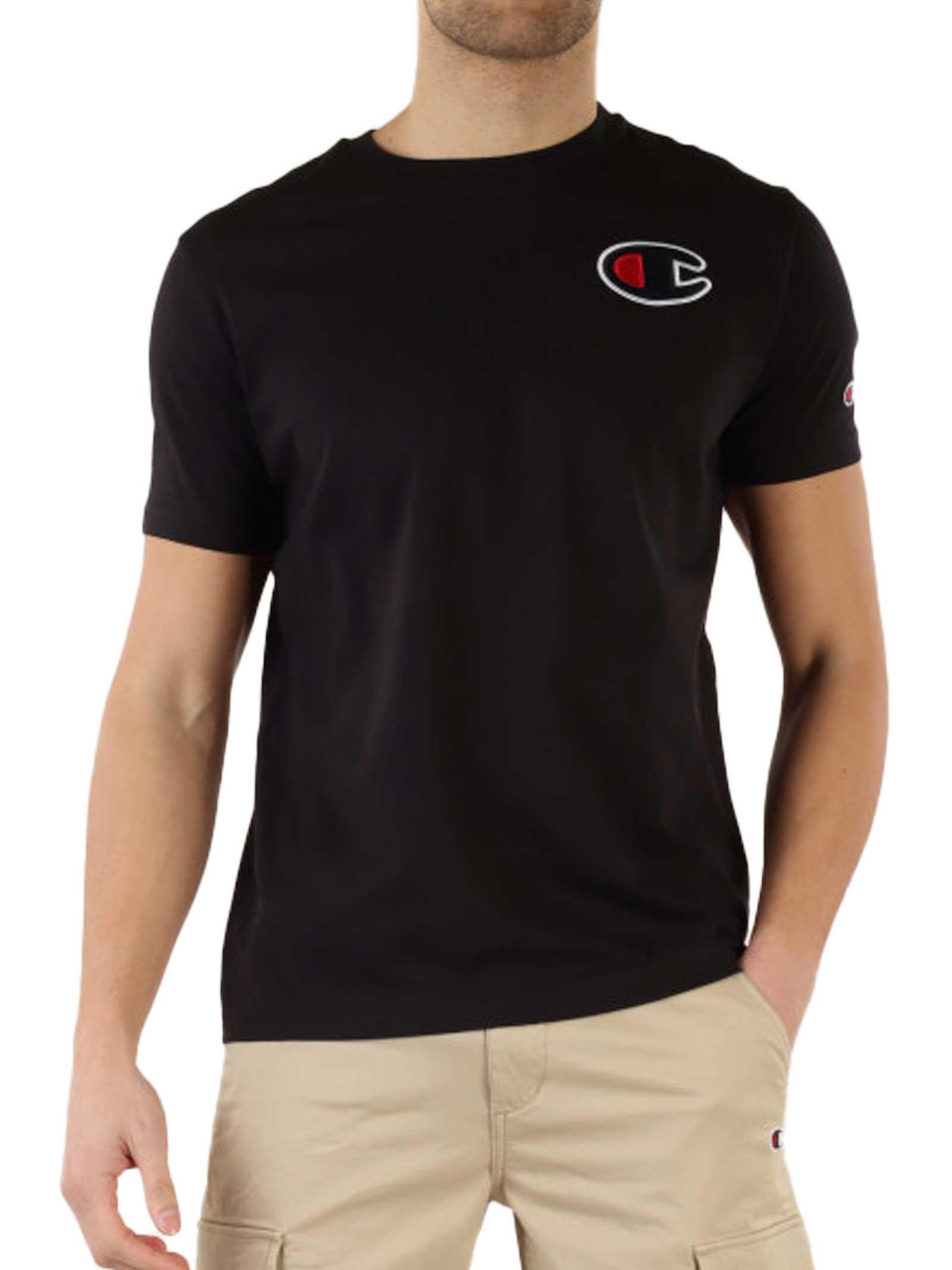 T-SHIRT UOMO CHAMPION | T-shirt | 214195NBK