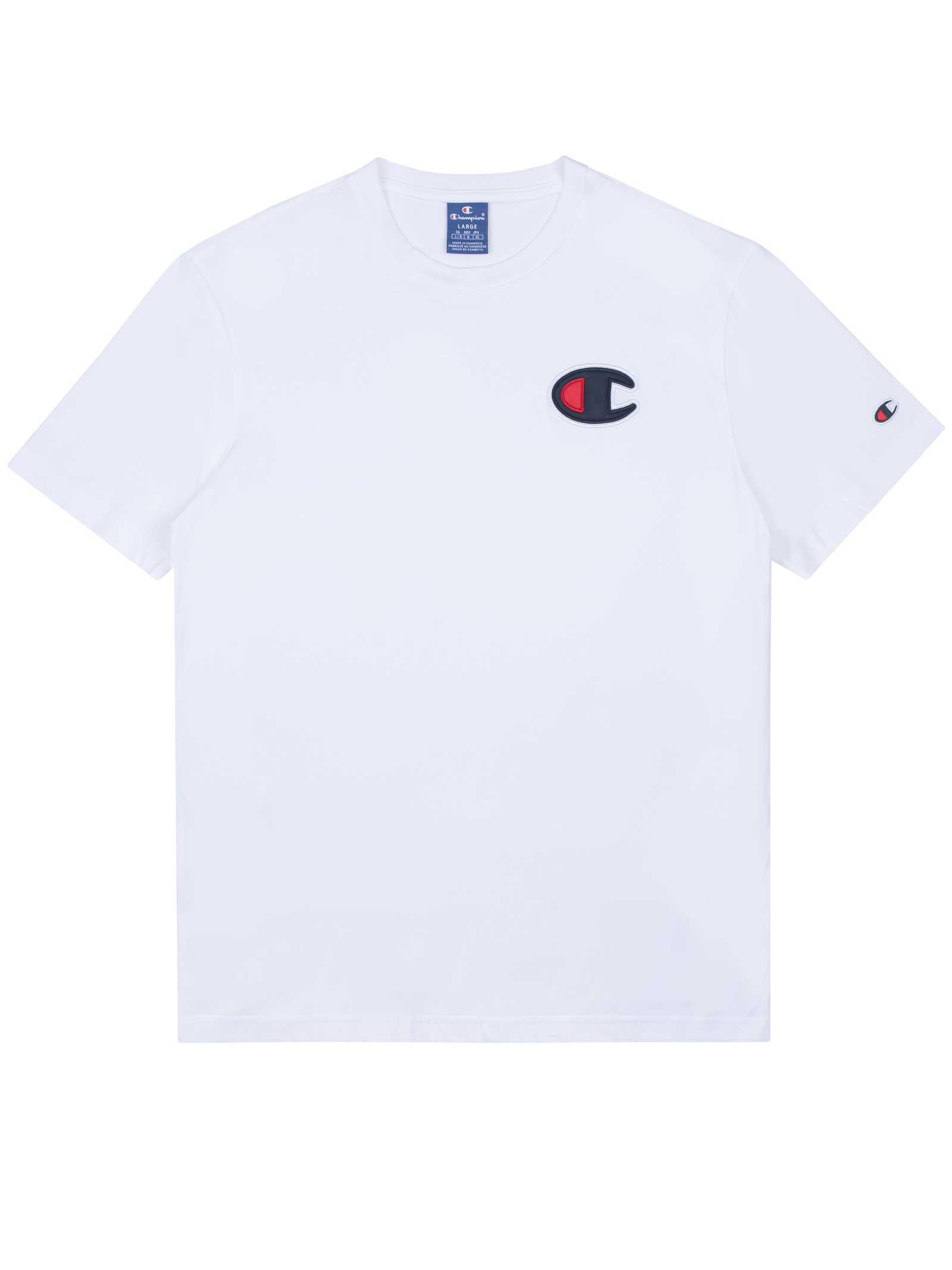 T-SHIRT UOMO CHAMPION | T-shirt | 214195WHT