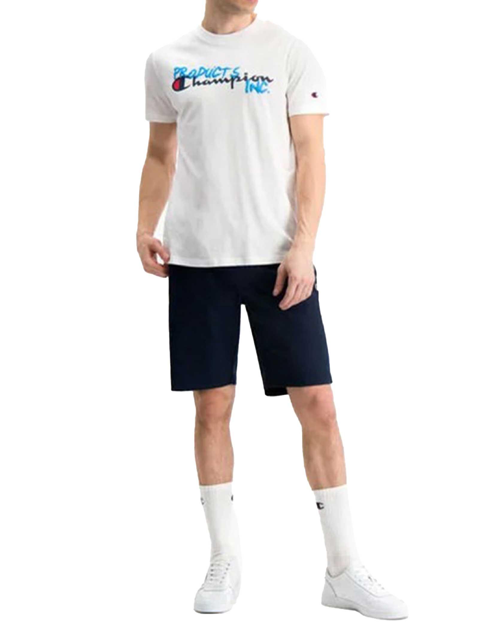 T-SHIRT UOMO CHAMPION | T-shirt | 214344WHT