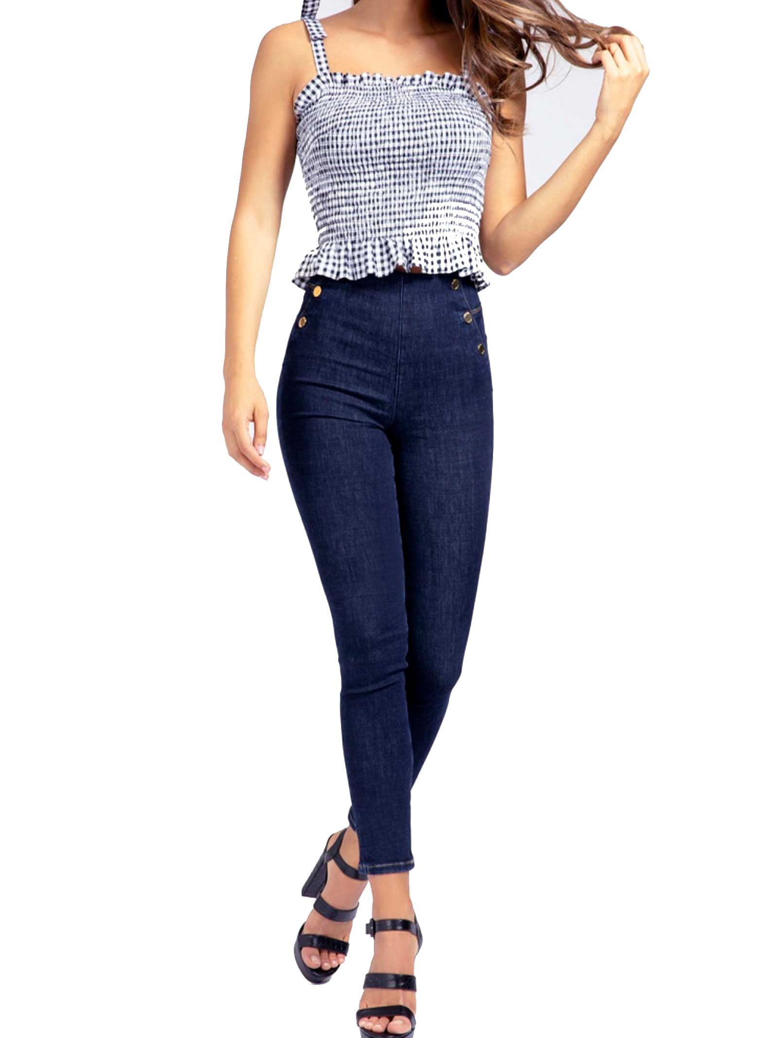 TOP DONNA GUESS   Top   W1GH0S-WDV70L095