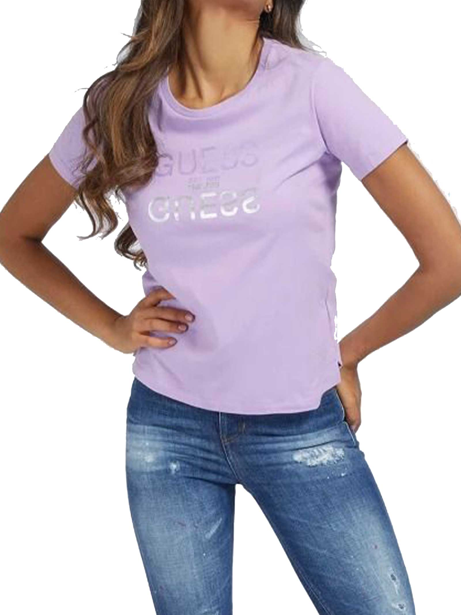 T-SHIRT DONNA GUESS   T-shirt   W1GI0C-I3Z11G4G8