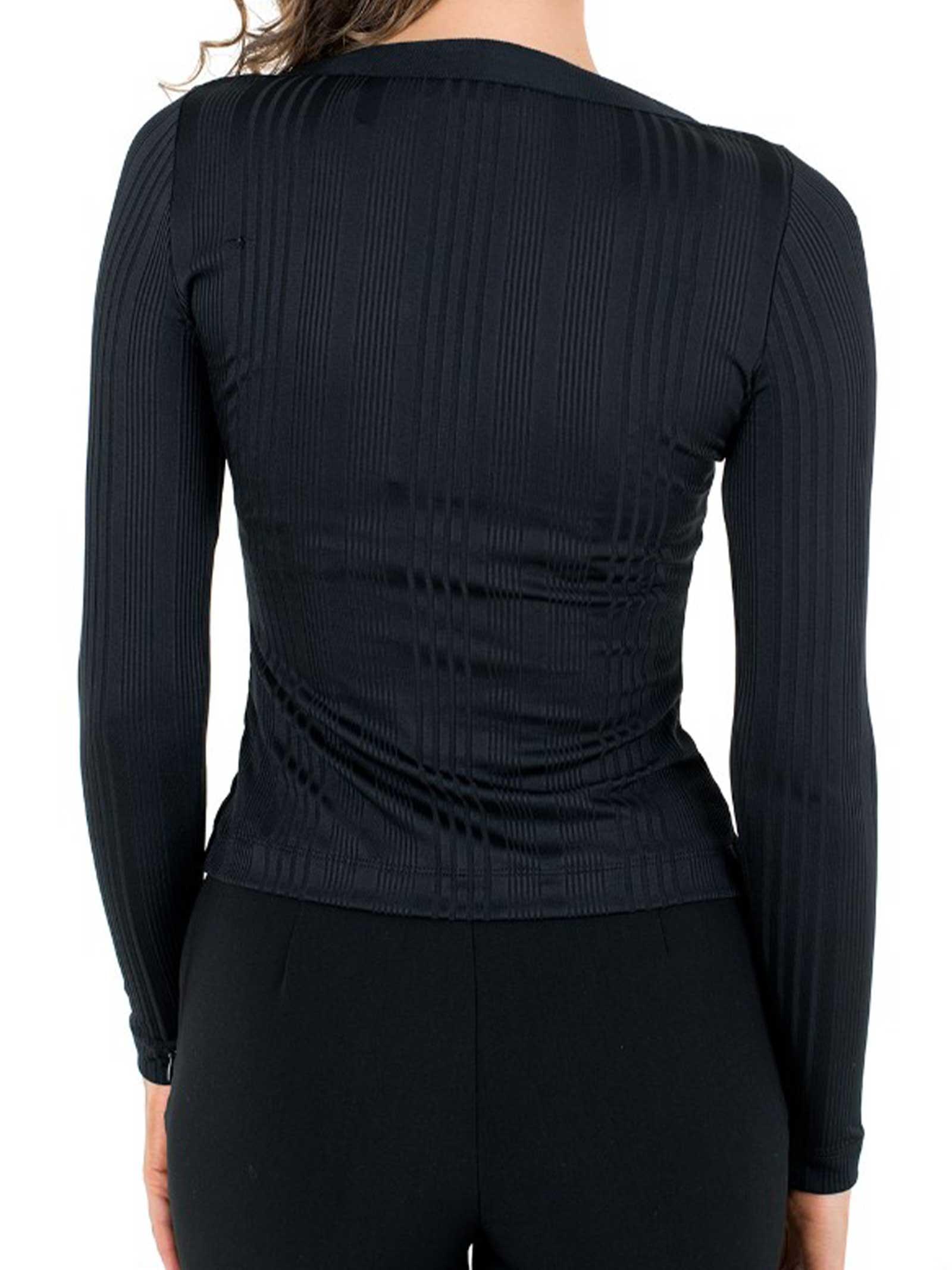 MAGLIA DONNA GUESS   T-shirt   W1GP71-KAF42JBLK