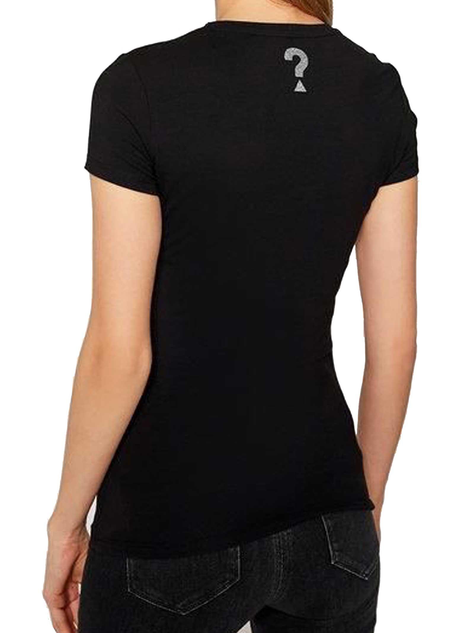 T-SHIRT DONNA GUESS   T-shirt   W1RI9G-J1300JBLK