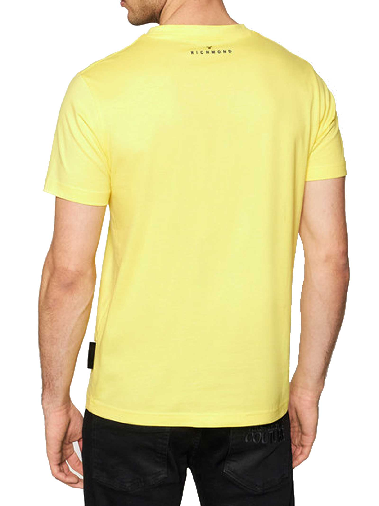T-SHIRT UOMO JOHN RICHMOND   T-shirt   UMP21004TSLIME CELANDINE