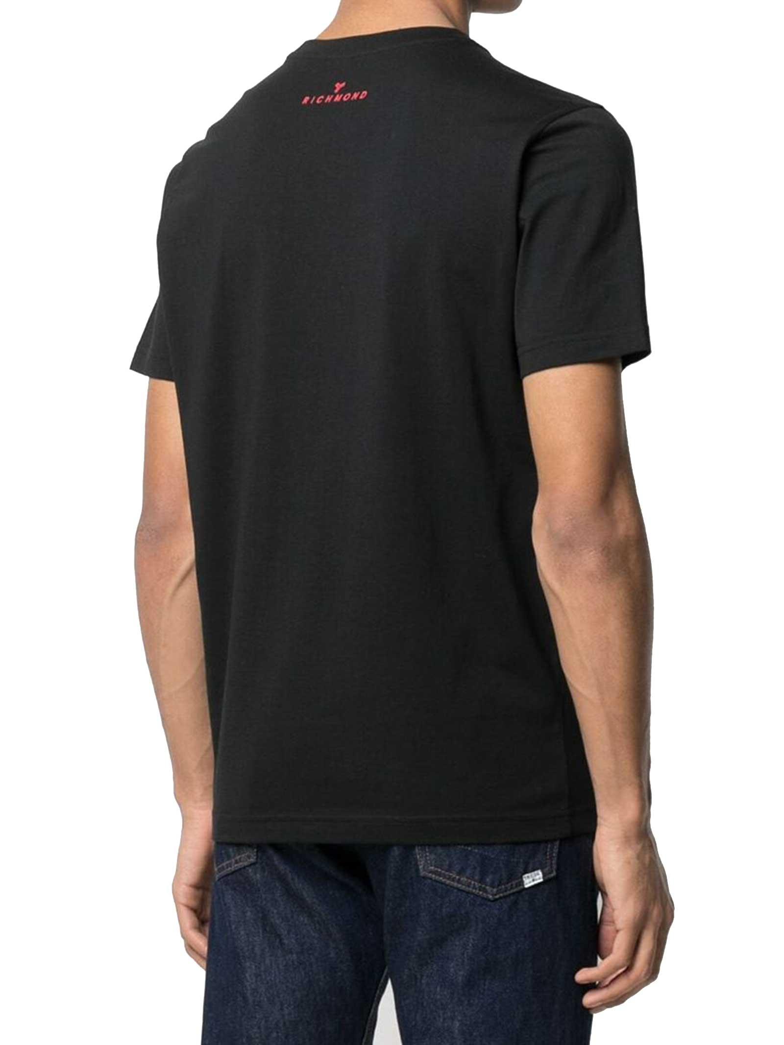 T-SHIRT UOMO JOHN RICHMOND   T-shirt   UMP21046TSBLACK