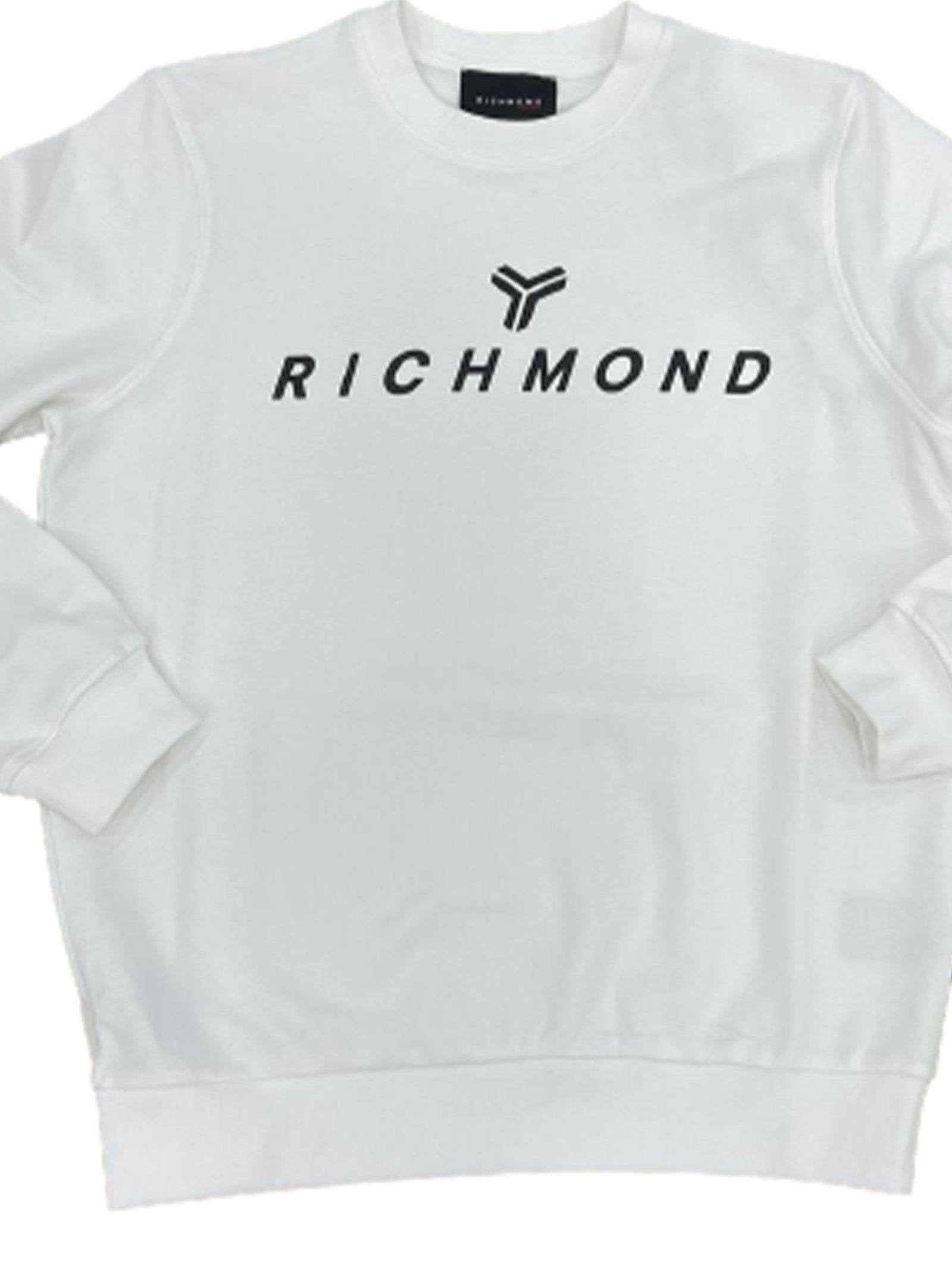 JOHN RICHMOND FELPA JOHN RICHMOND | Felpa | UMP21087TSWHITE