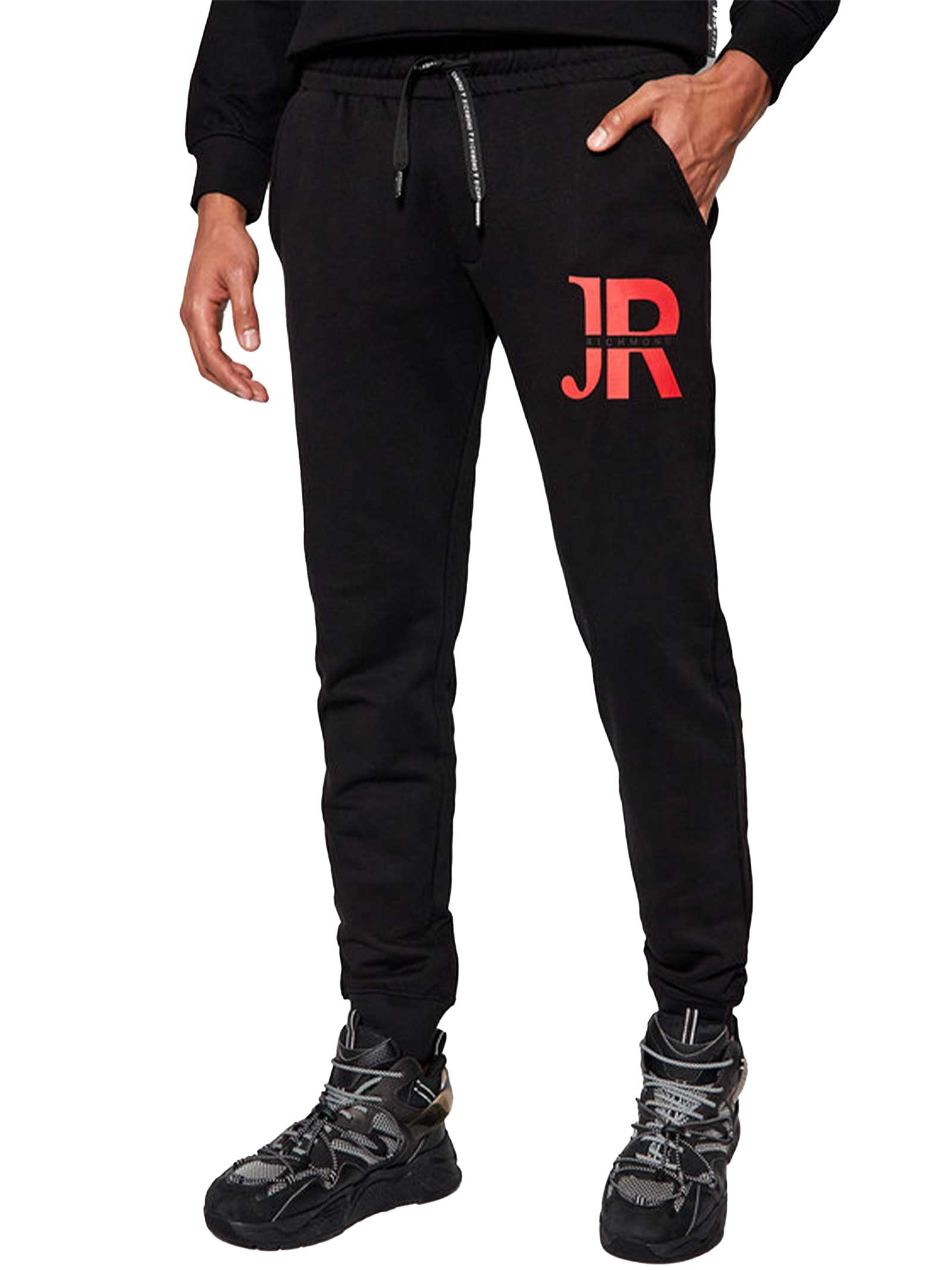 PANTALONI UOMO JOHN RICHMOND   Pantalone Tuta   UMP21152PABLACK
