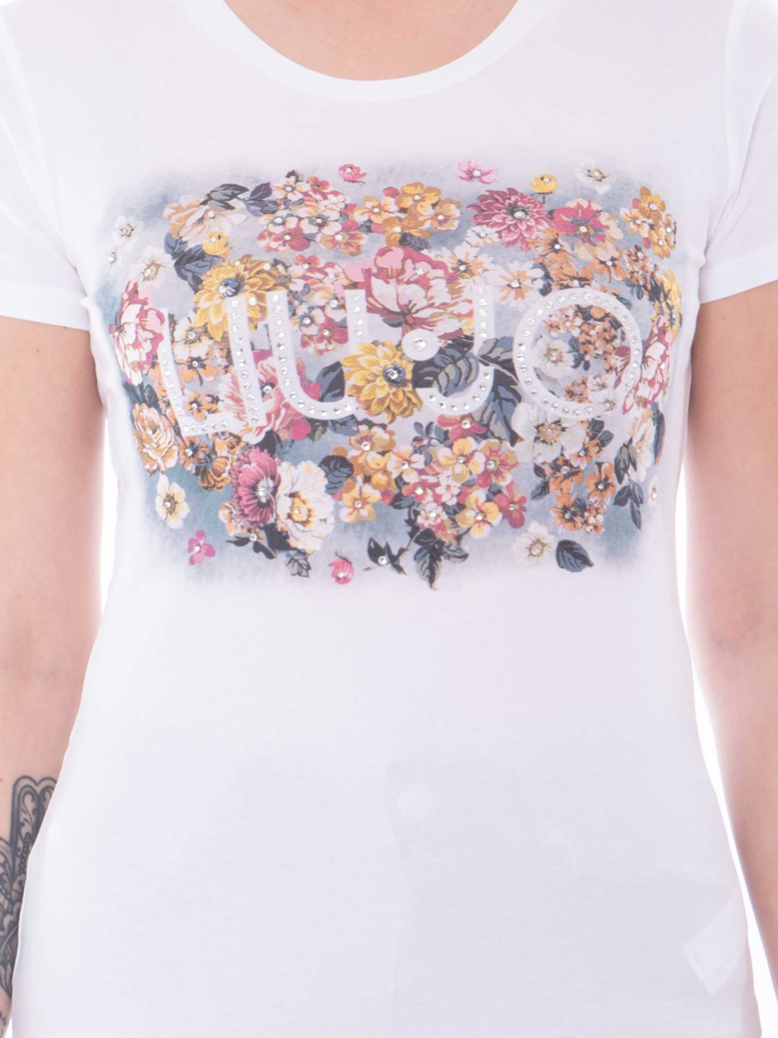 T-SHIRT LIU JO LIU JO   T-shirt   WA1569-J0250T9348