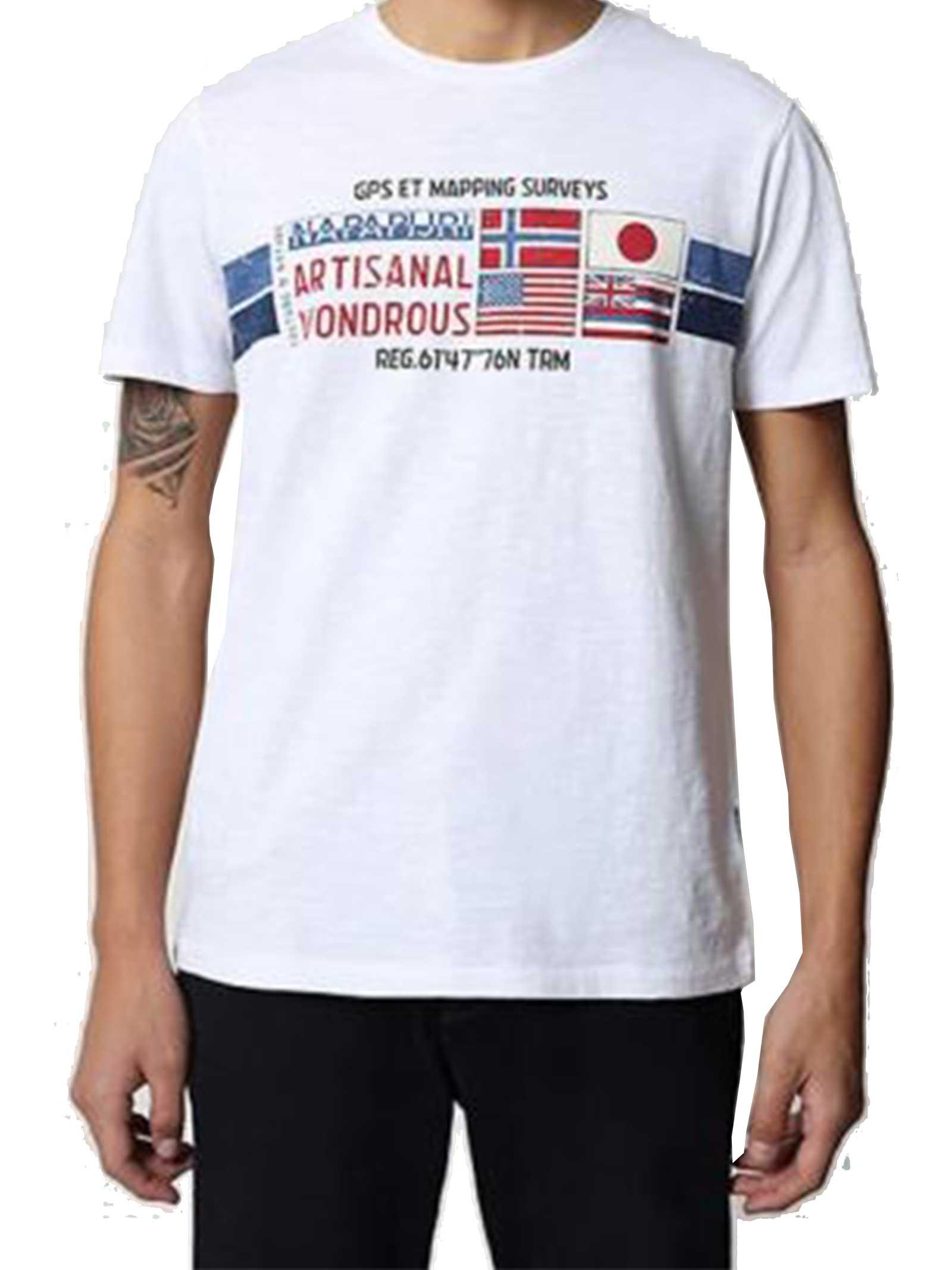 T-SHIRT UOMO NAPAPIJRI | T-shirt | NP0A4F6J002